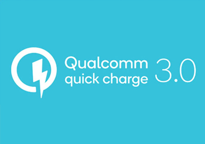 Enjoy super fast 18W Qualcomm Quick Charge 3.0 charging to get you powered up.