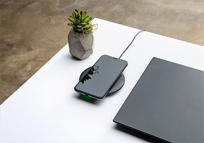 Low-profile, compact design makes for an elegant charging solution.